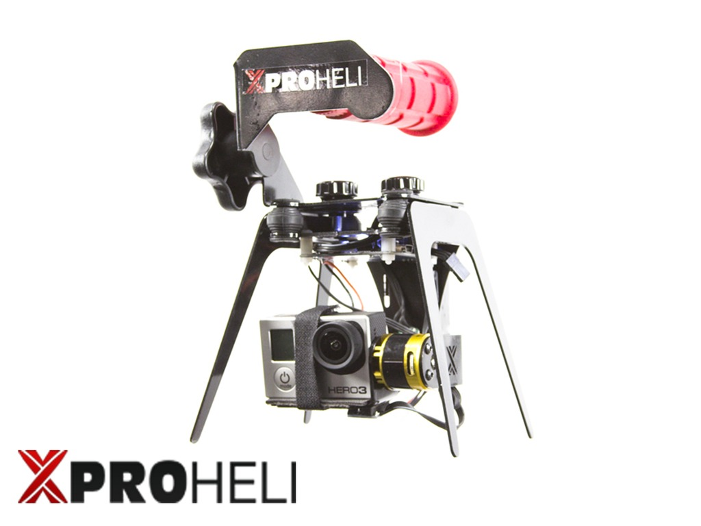 XPG Brushless Gimbal for GoPro Hero 2/3 by XPROHELI's video poster