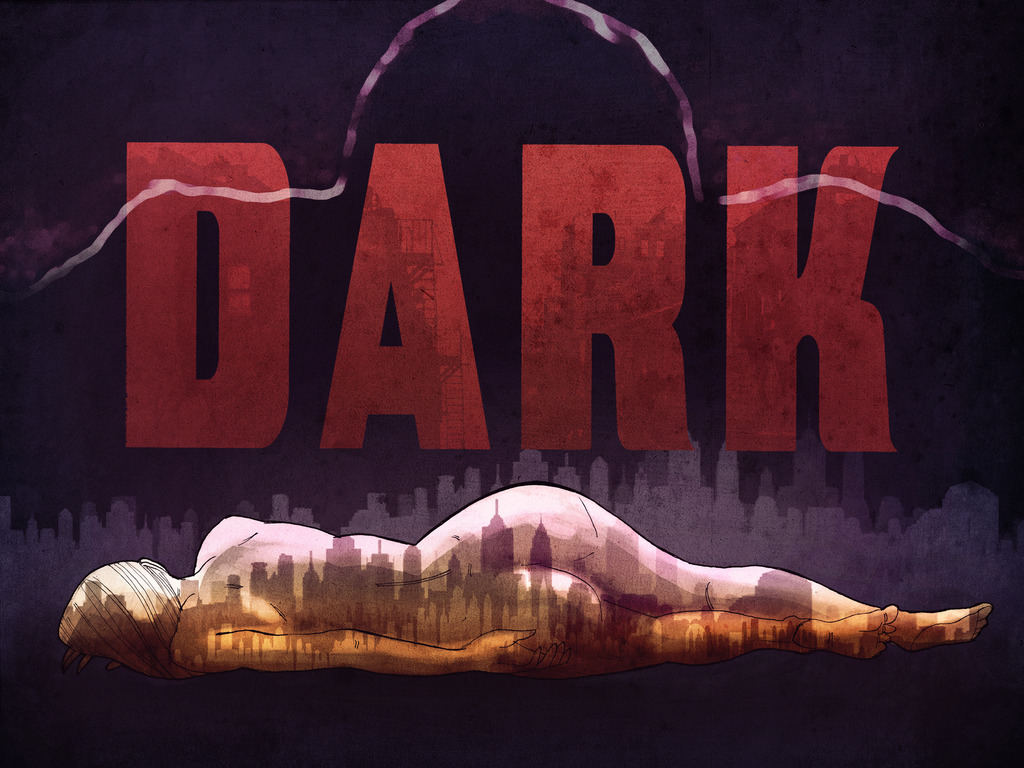 DARK - a new feature thriller's video poster