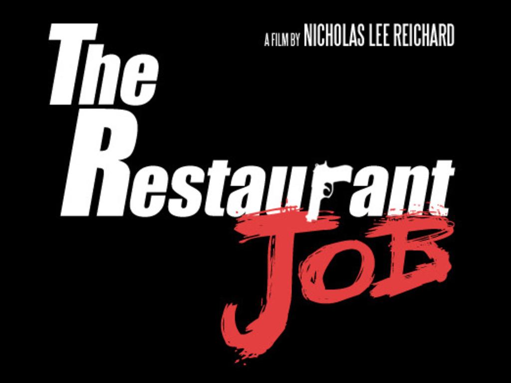 The Restaurant Job's video poster