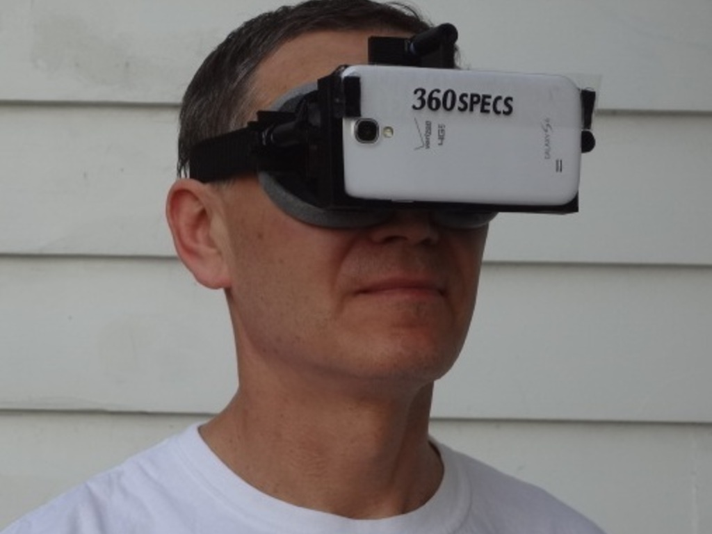 360specs: turn your smart phone into virtual reality headset's video poster