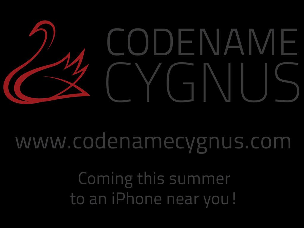 Codename Cygnus - an Interactive Radio Drama for iOS's video poster