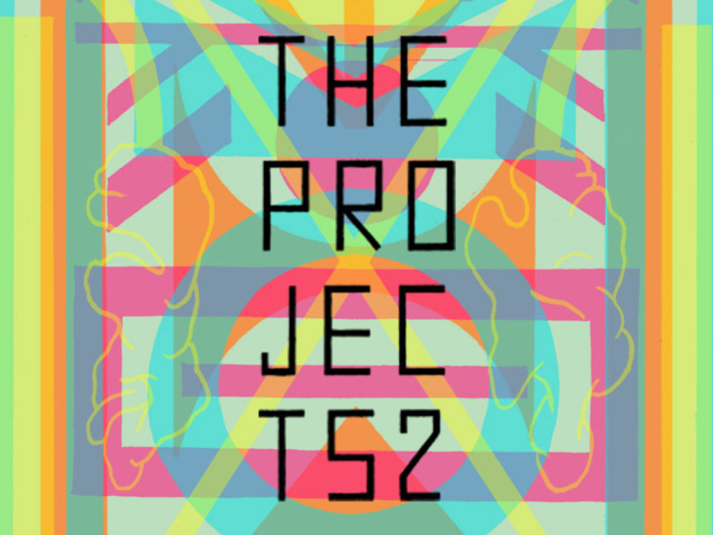 THE PROJECTS II - Festival of experimental comics + art's video poster