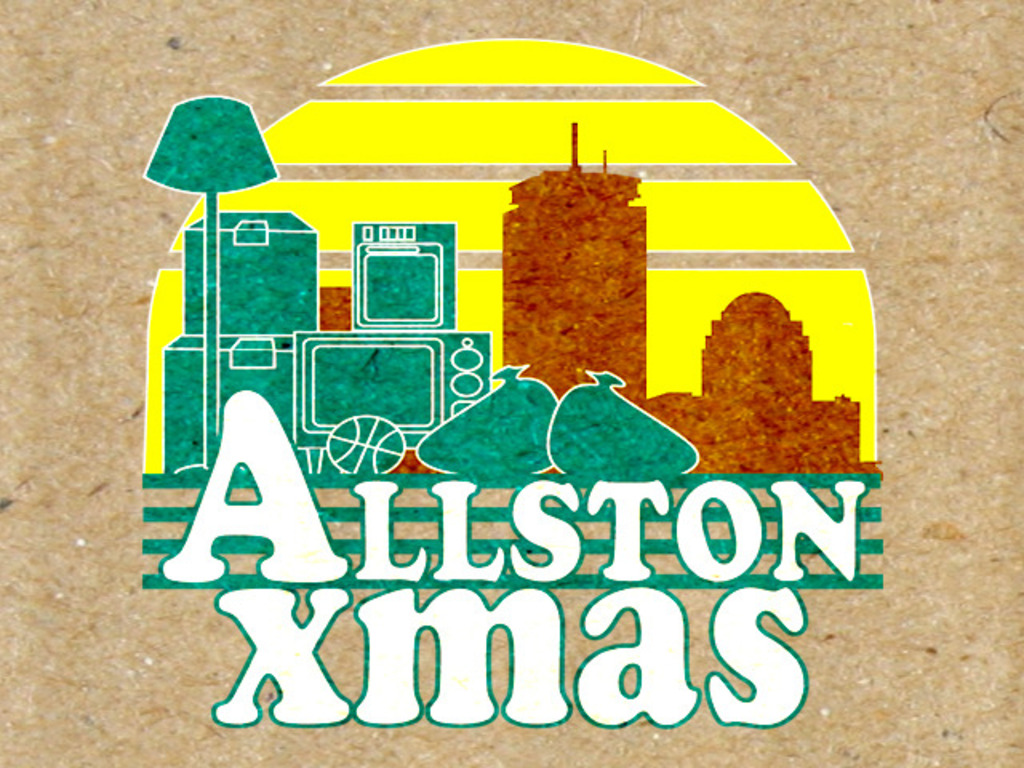 Allston Xmas's video poster