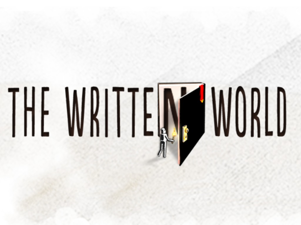The Written World's video poster