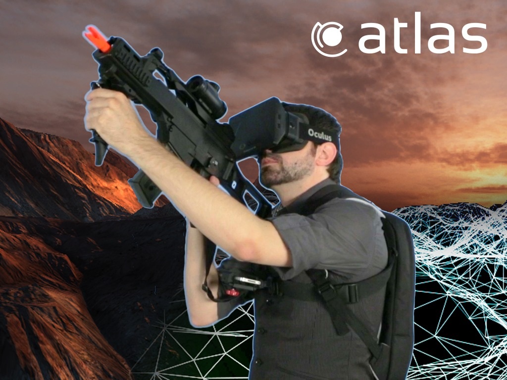 Atlas: Virtual Reality Made Real's video poster