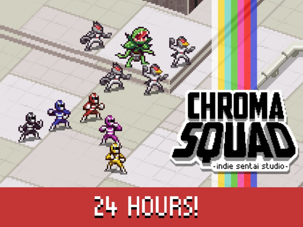 Chroma Squad - manager game with japanese-style super heroes's video poster