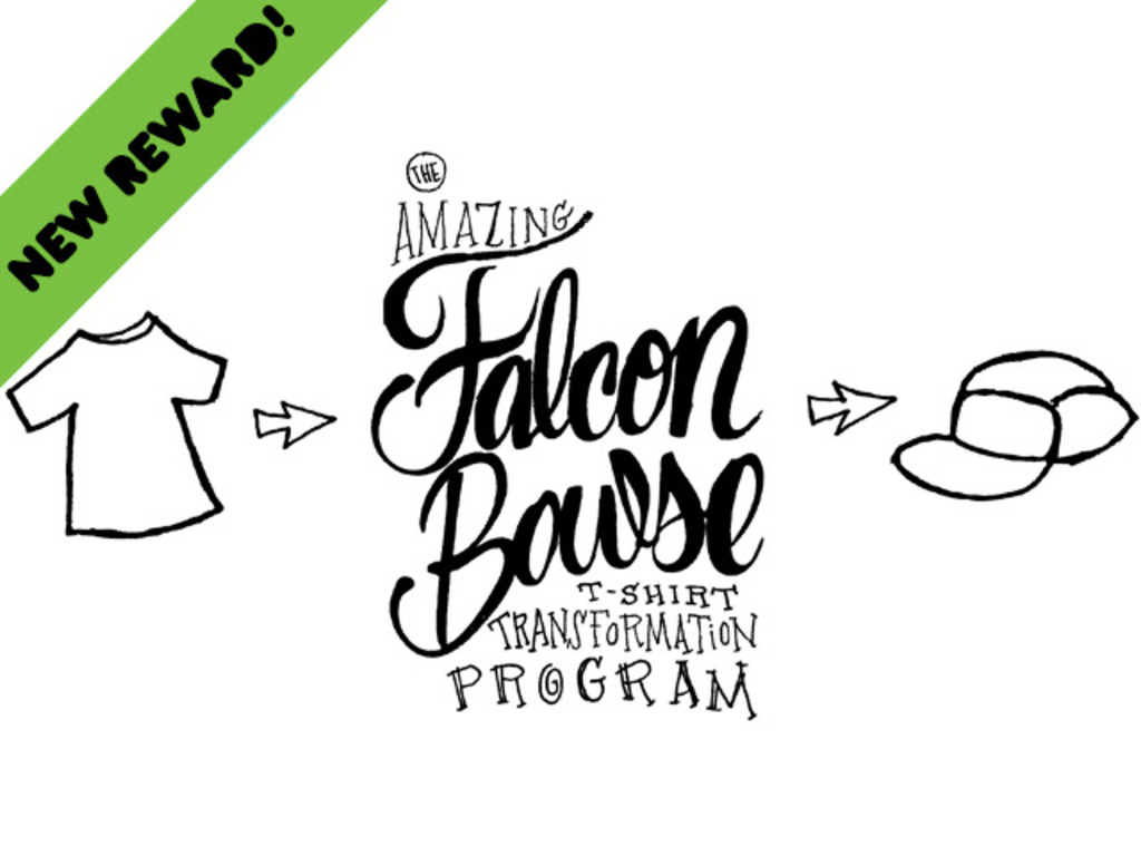 The Amazing Falcon Bowse T-Shirt Transformation Program's video poster