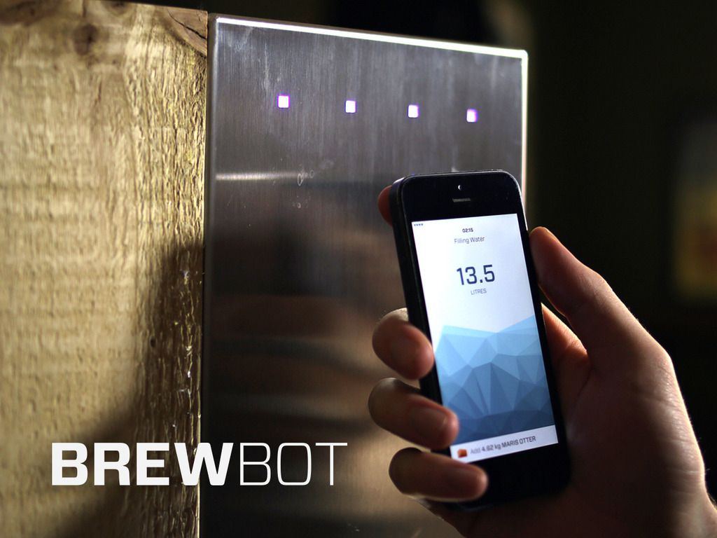 Brewbot: The Smart Brewing Appliance's video poster