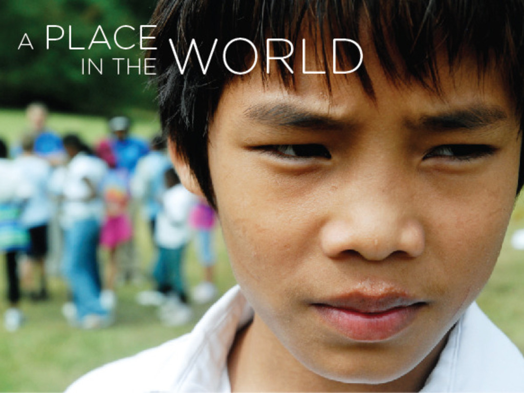 A Place In The World's video poster