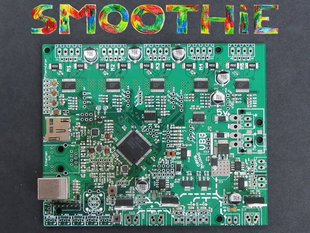 Smoothieboard - The future of CNC motion control's video poster