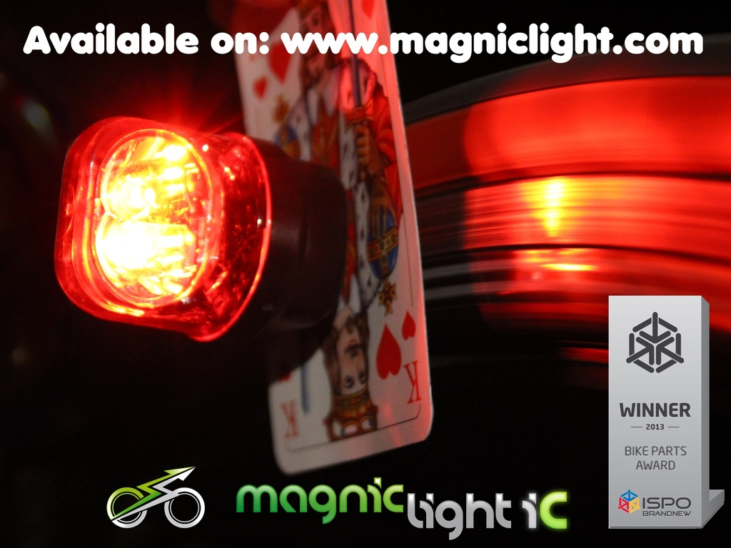 Magnic Light iC - Intelligent Contactless Bicycle Dynamo's video poster