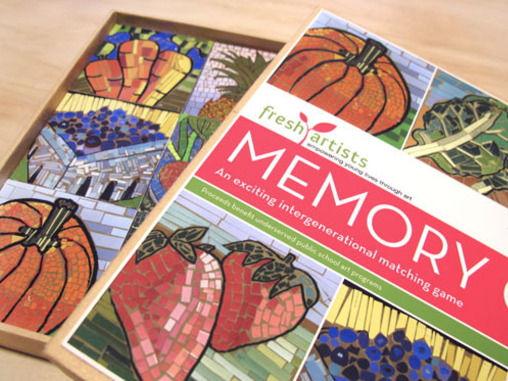Fresh Artists' Memory Game's video poster