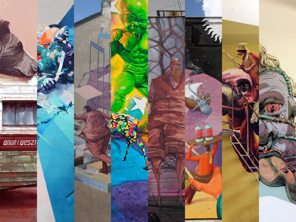 2014 Richmond Mural Project's video poster