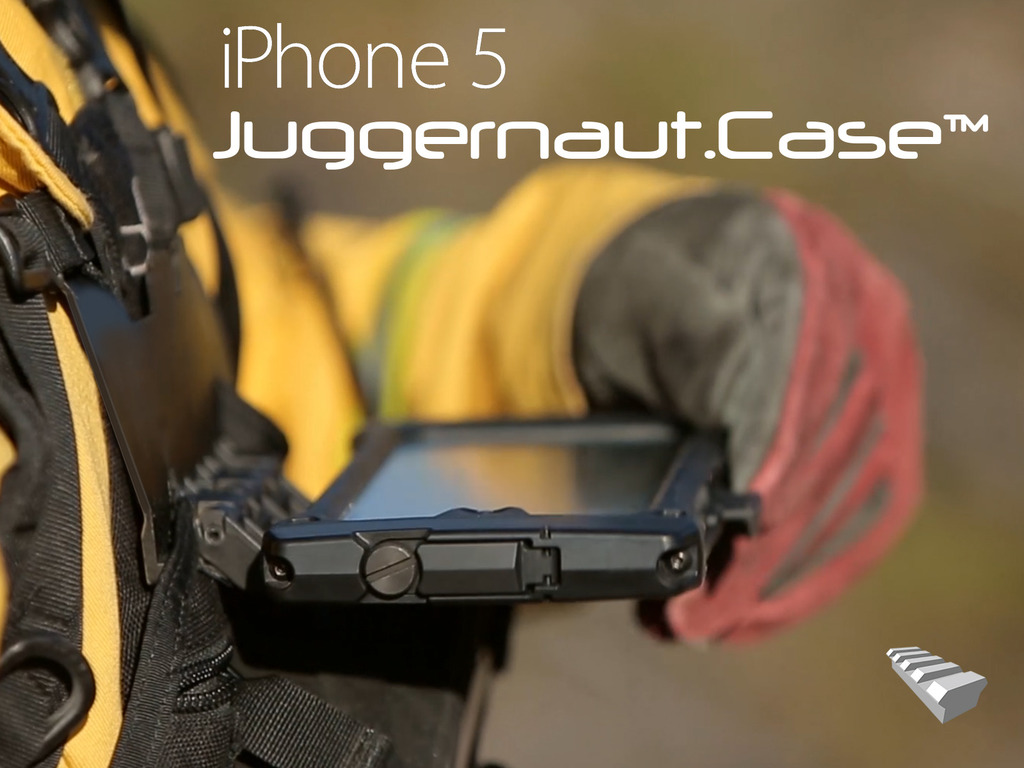 Ruggedized/Wearable iPhone 5 Case & Mounts for Active Users's video poster