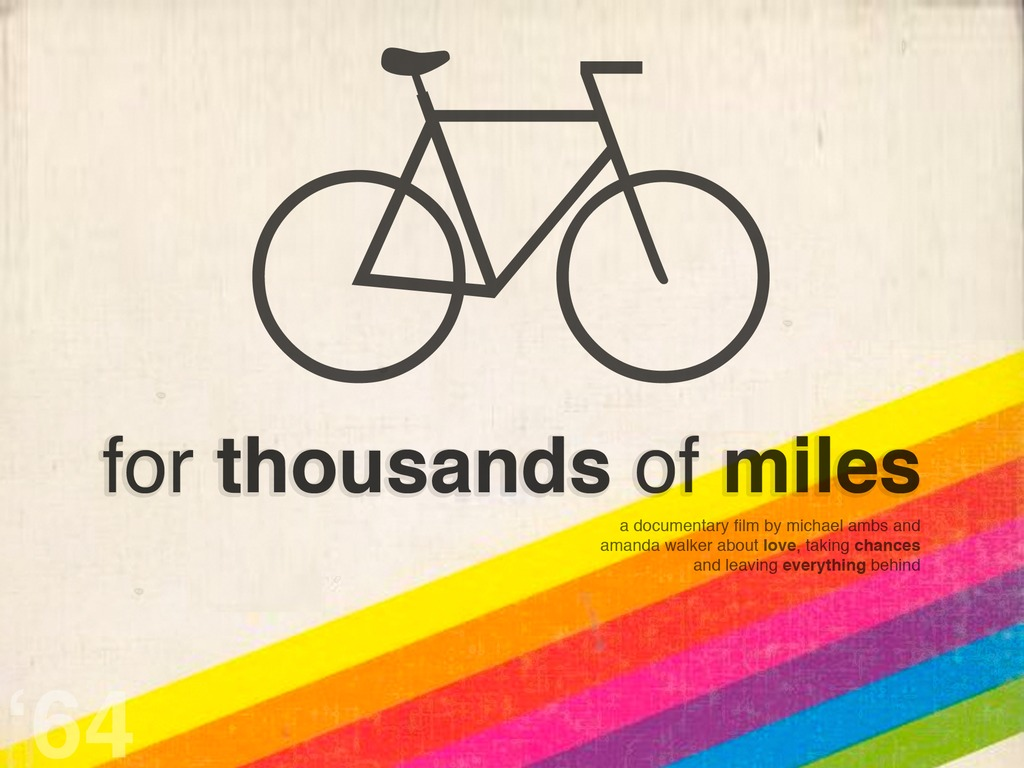 For Thousands of Miles - a documentary about leaving everything behind's video poster
