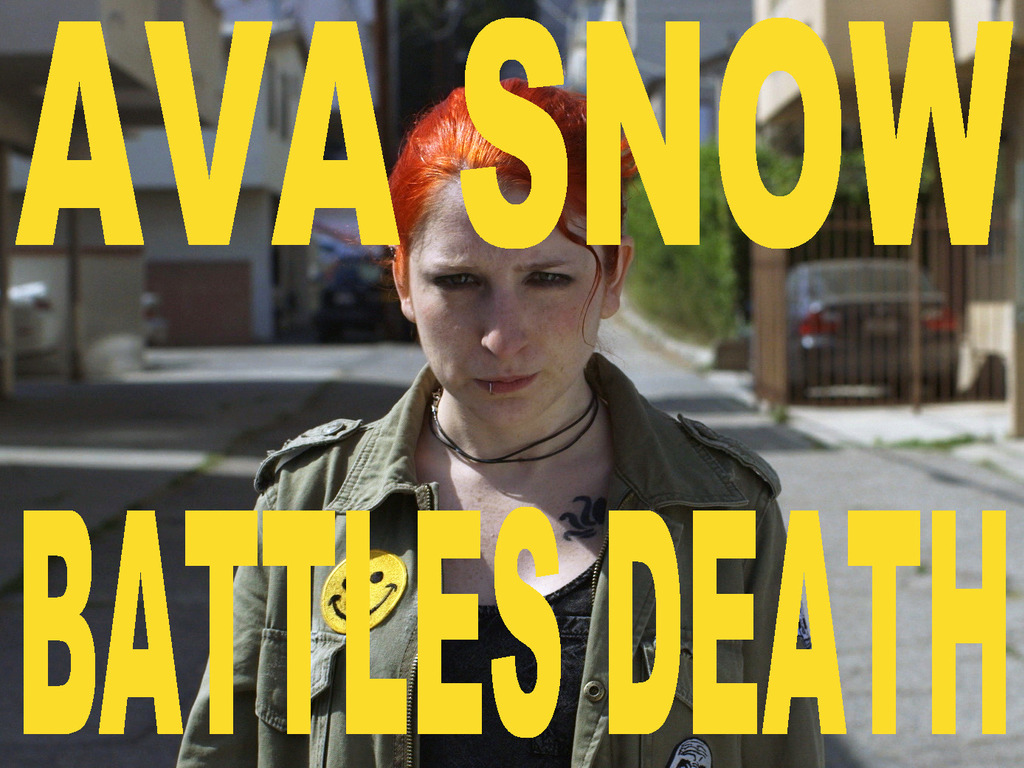 AVA SNOW BATTLES DEATH – an action series for the web's video poster