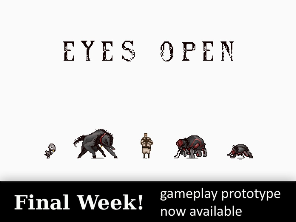 Eyes Open's video poster