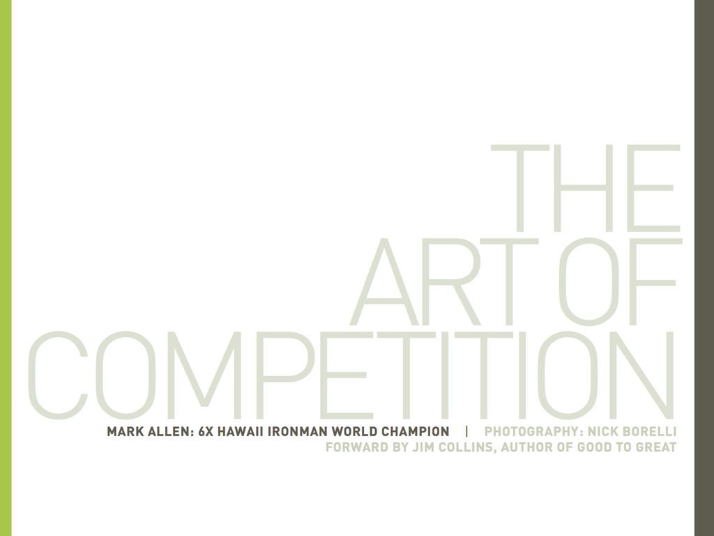 The Art of Competition's video poster
