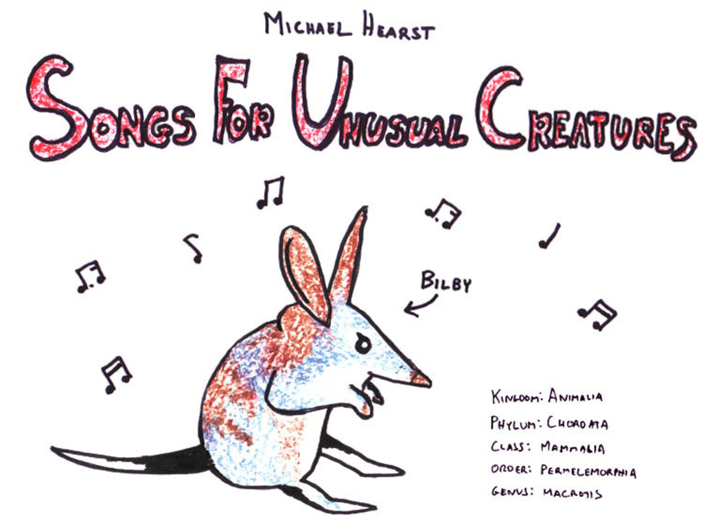 Songs For Unusual Creatures's video poster