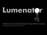 Lumenator LED Light - The Future of Photo & Video Lighting