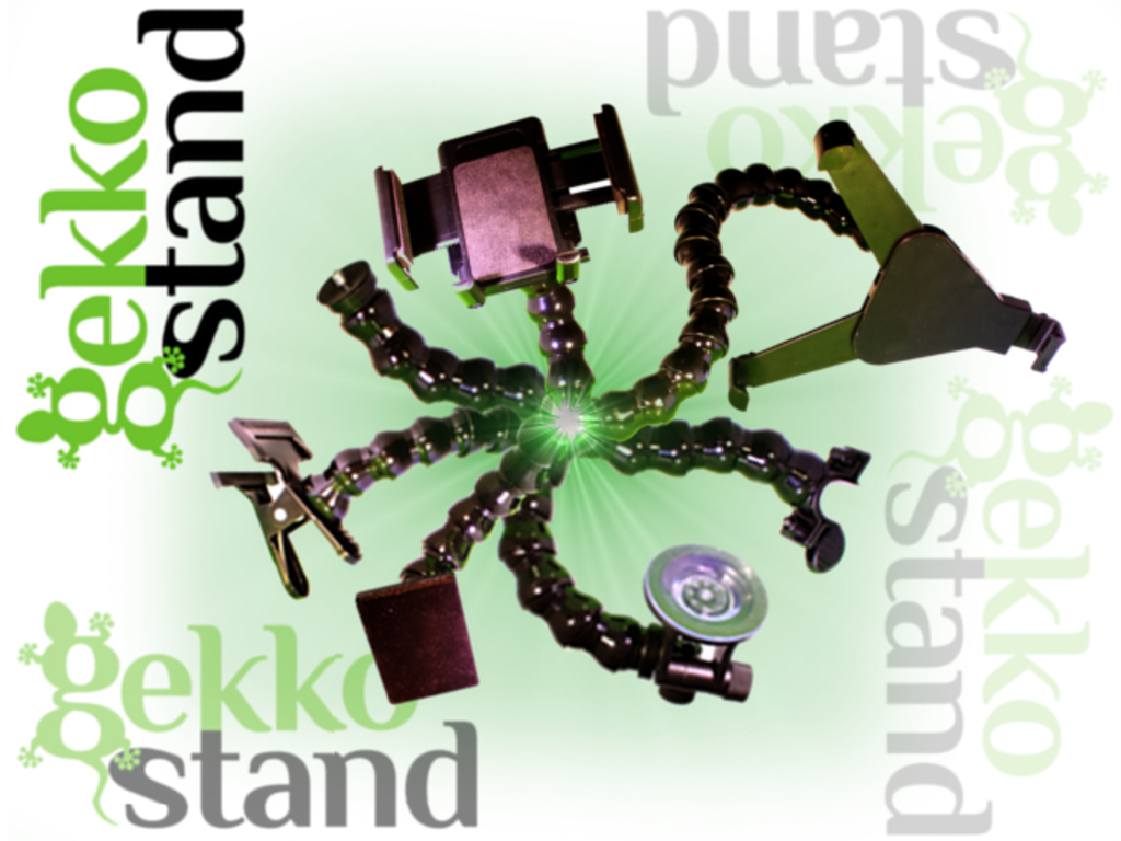 Gekko Stand 2.0 - The Only Mount You'll Ever Need!'s video poster