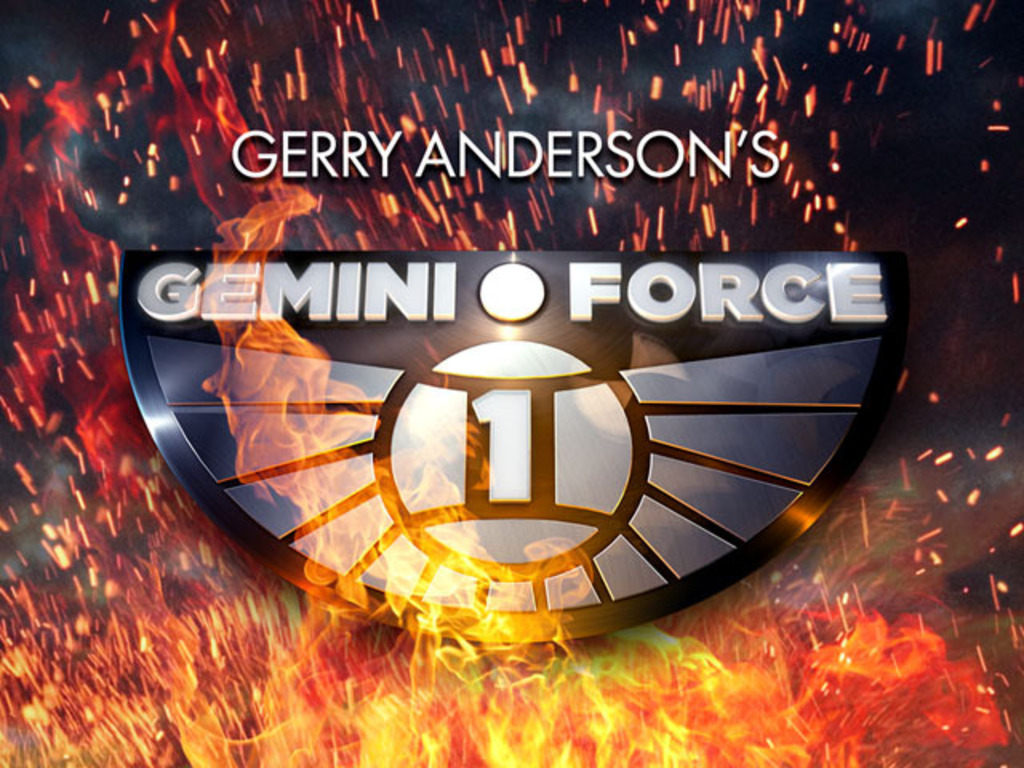 Gerry Anderson's Gemini Force One's video poster