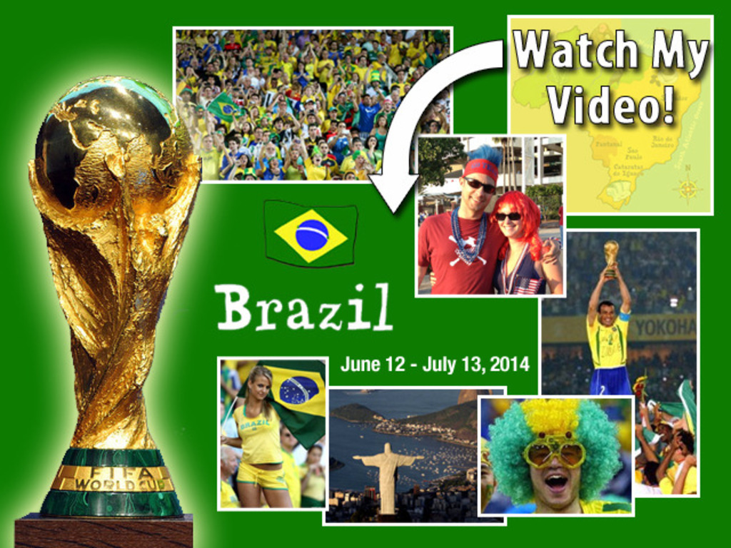 Documenting the World Cup experience for those who can't go!'s video poster