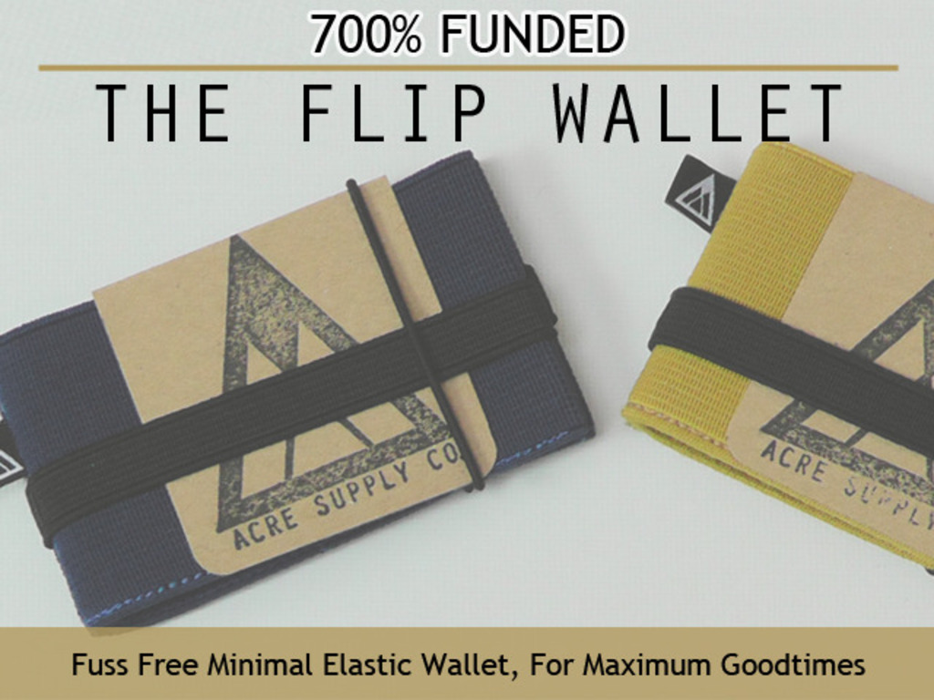 Flip - The Minimal Fuss Wallet from Acre Supply Co.'s video poster
