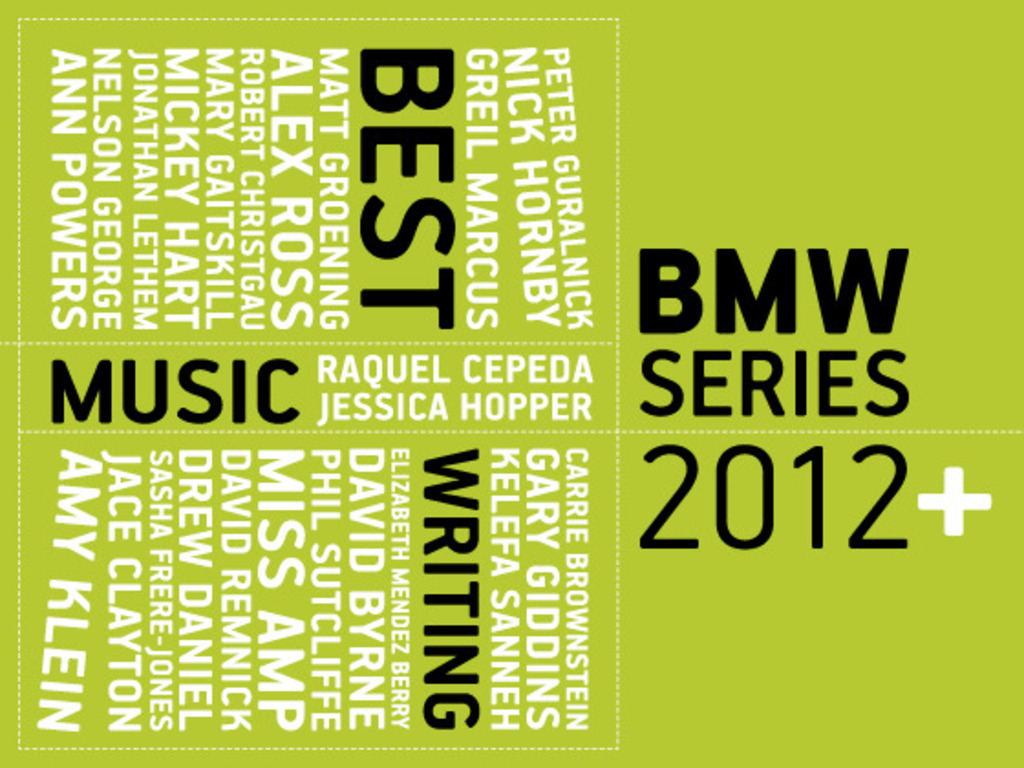 Launch the Best Music Writing series as an indie press pub's video poster
