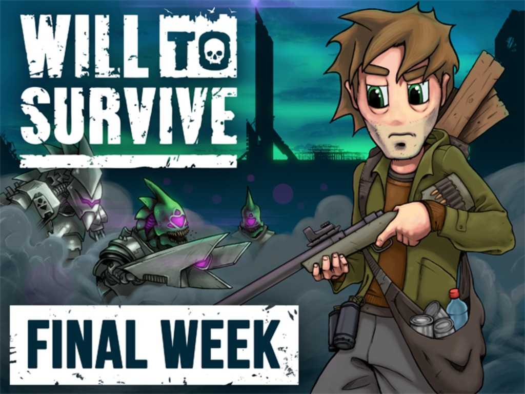 Will to Survive : A real-time survival RPG with aliens!'s video poster