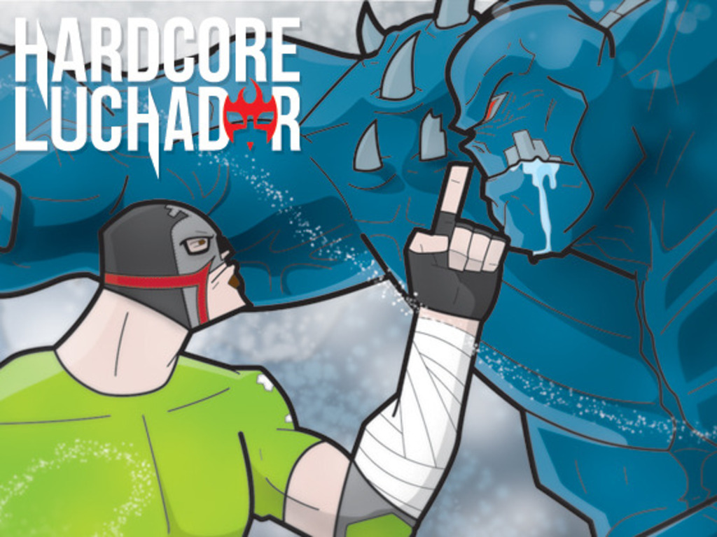 Hardcore Luchador - An Online Comic Debuting May 5th 2012's video poster
