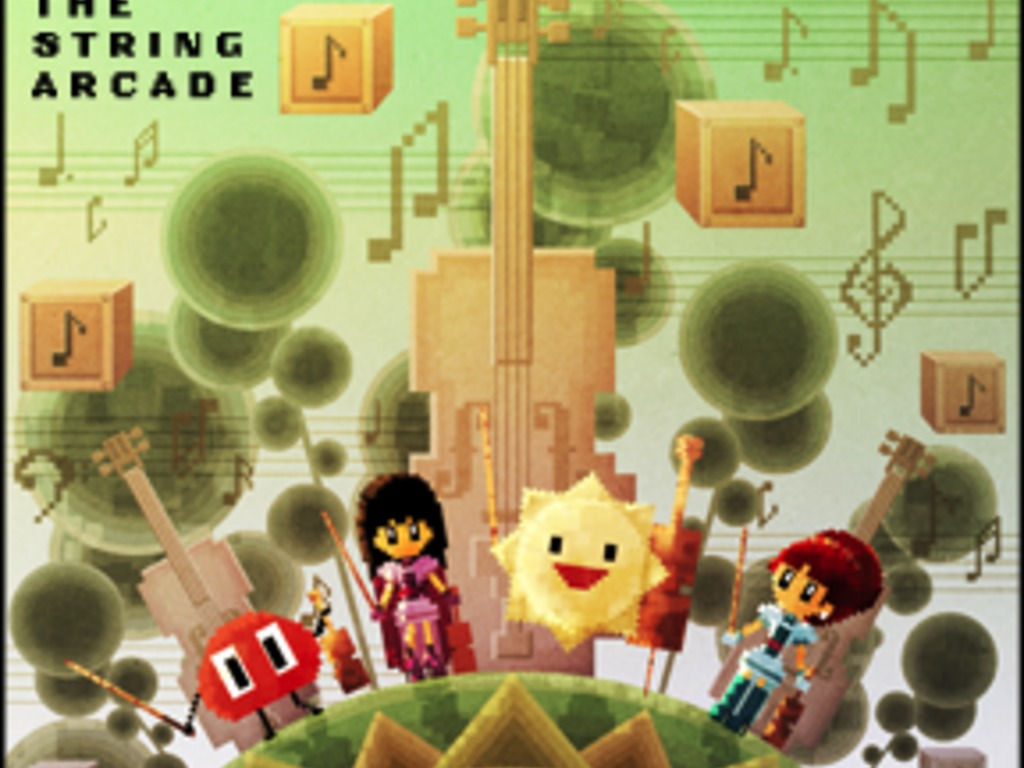 The String Arcade Recording's video poster