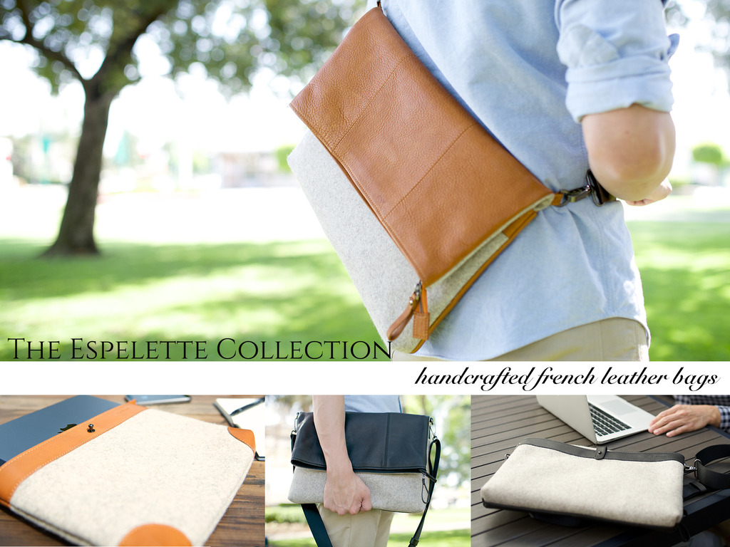 Espelette Collection Handcrafted French Leather & Felt Bags's video poster
