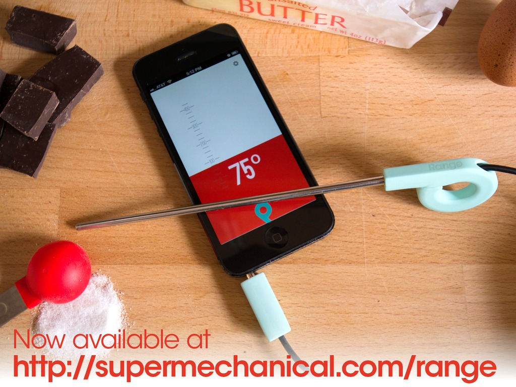 Range. Smart thermometer, smarter kitchen. (for iPhone/iPad)'s video poster