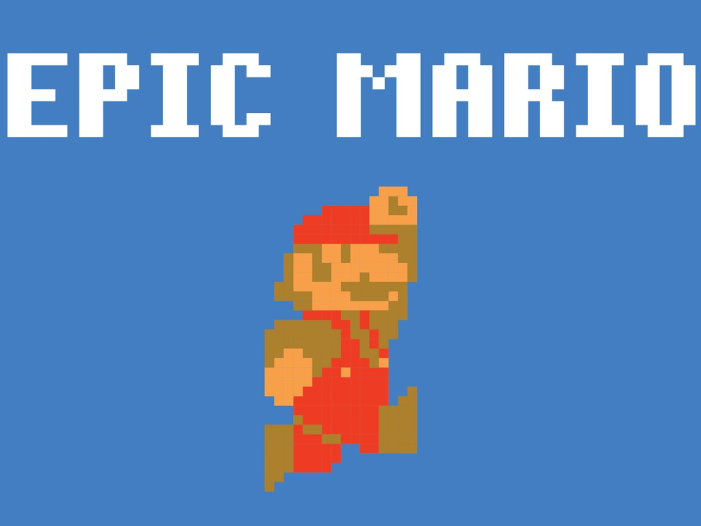 Epic Mario's video poster