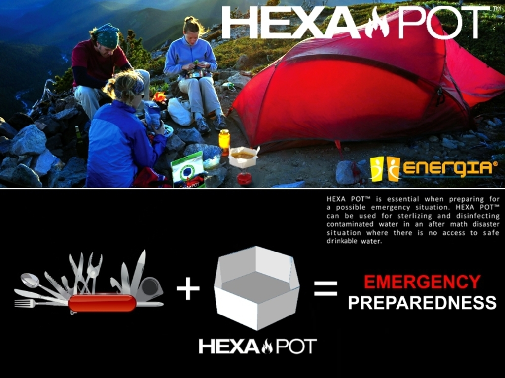 Hexa Pot™: Indoor/Outdoor Disposable Paper Cooking Pot's video poster