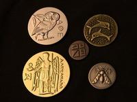 Pieces en metal pour jeux antiques et medievaux Photo-little