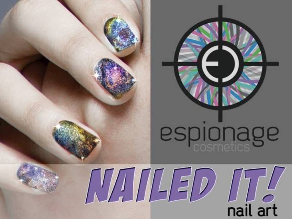 """Espionage Cosmetics """"NAILED IT!""""'s video poster"""