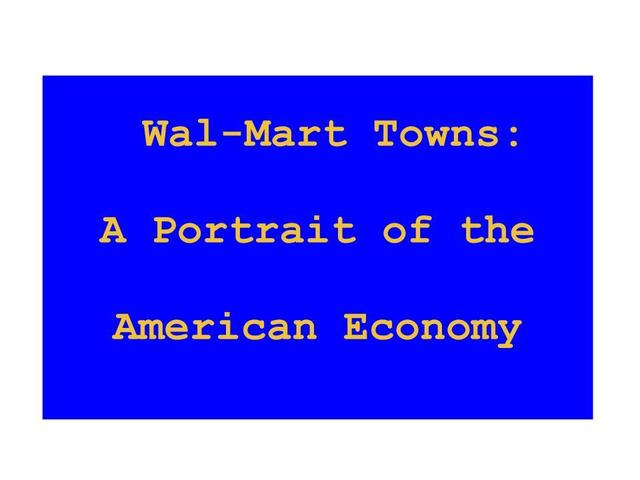wal marts economic environment Bentonville, ark, april 23, 2018 – today, walmart released a summary of its eleventh annual global responsibility report (grr), highlighting the company's progress and accomplishments in fiscal year 2018 to increase economic opportunity, enhance sustainability of supply chains and strengthen local communities.