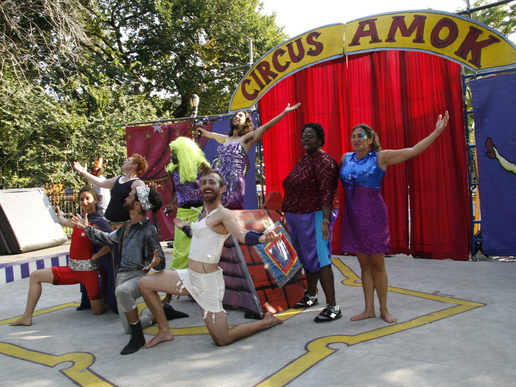 Circus Amok Tour 2012's video poster