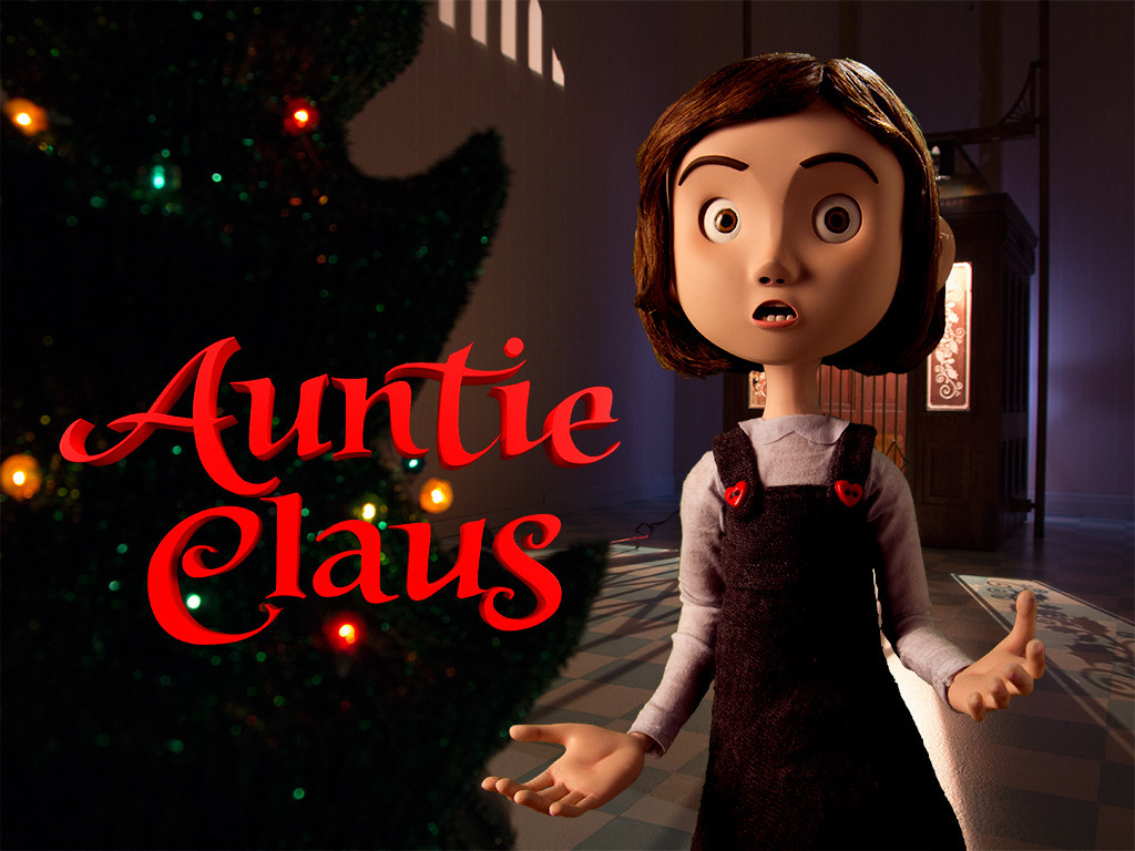 Auntie Claus: The Movie's video poster
