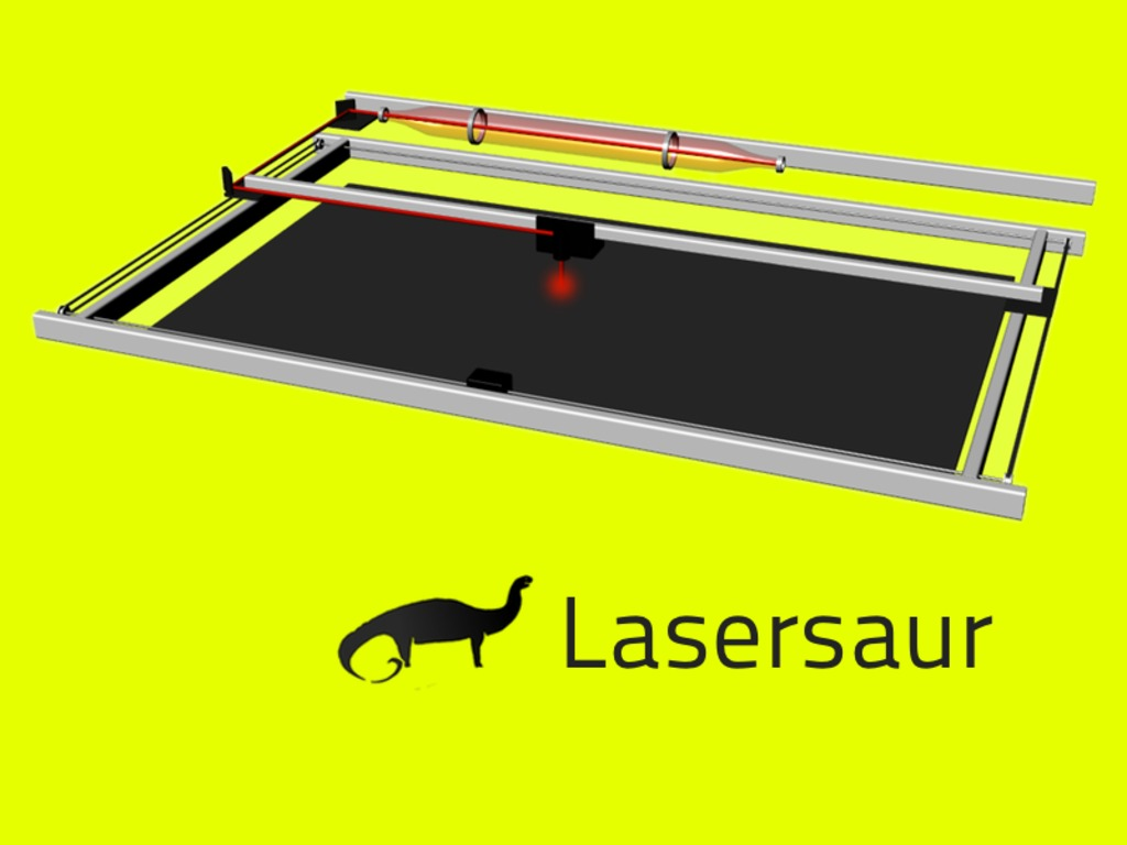 Lasersaur: Open Source Laser Cutter's video poster