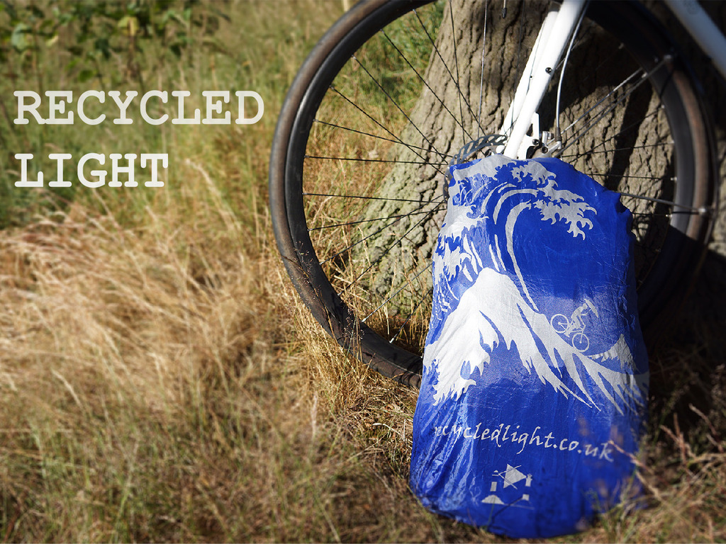 Recycled Light: Waterproof and Reflective Rucksack Covers.'s video poster
