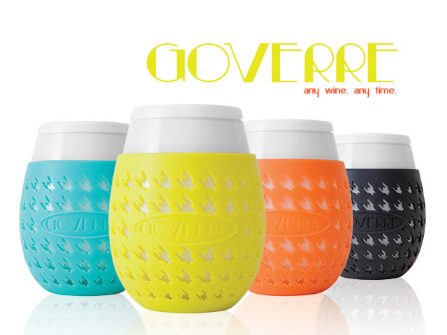 Goverre a chic spill proof portable stemless wine glass by regan and shannon kickstarter - Vinogo portable wine glass ...
