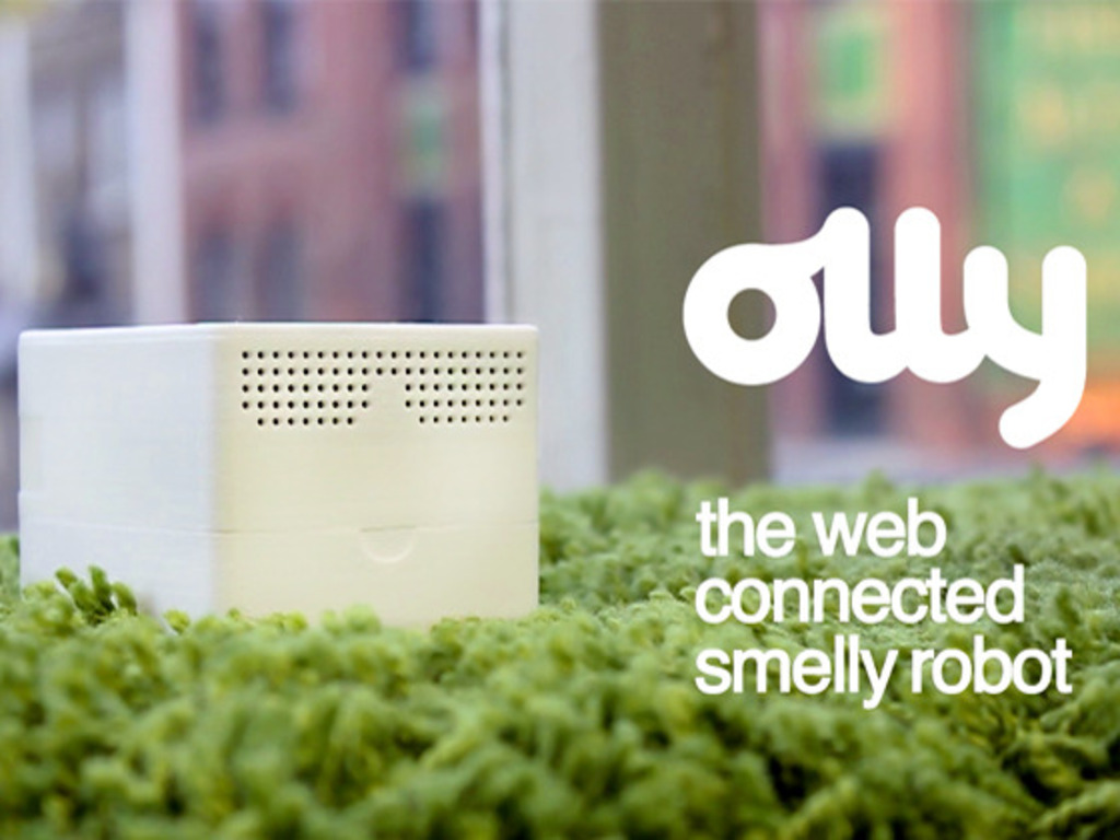 Olly and Molly: the web connected smelly robots.'s video poster