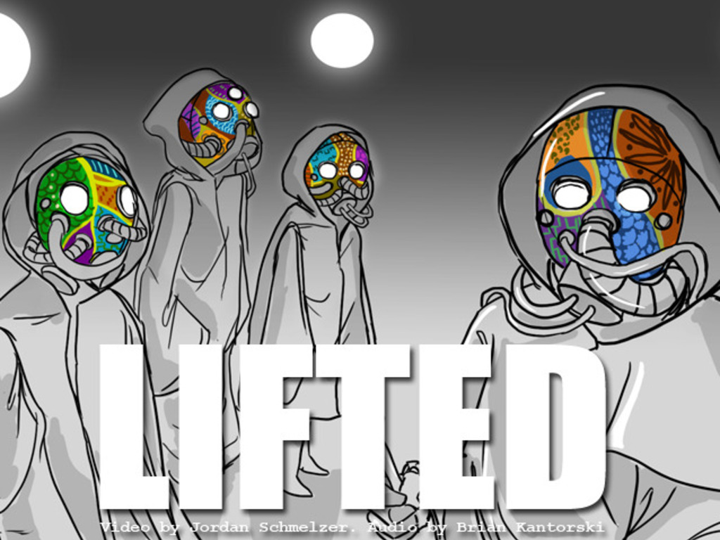 LIFTED - a sci-fi flavored music video's video poster