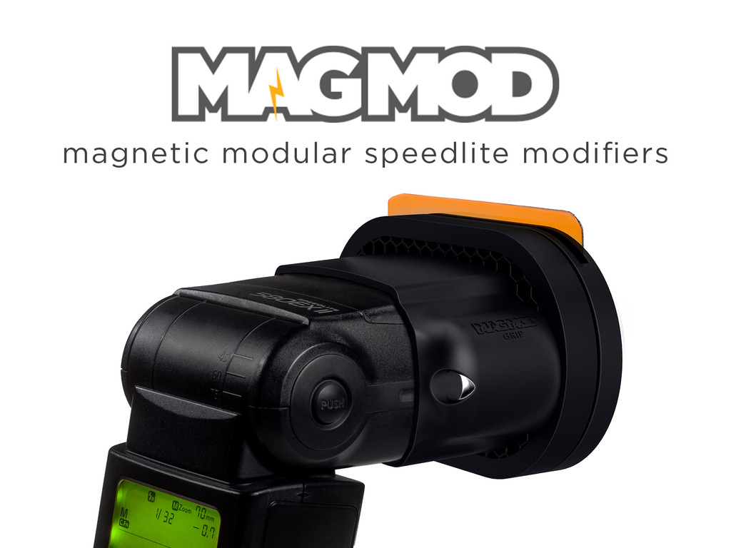 MagMod - Magnetic Speedlite Modifiers for Hot-Shoe Flashes's video poster