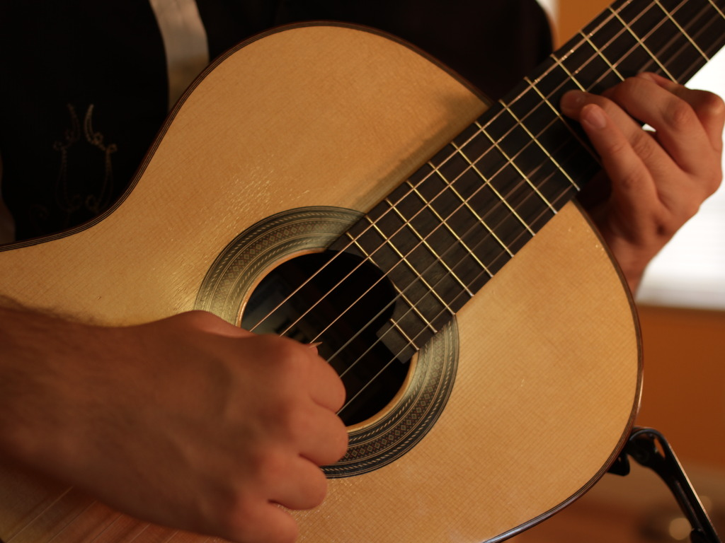 """""""Songs and Dances:"""" Music for Classical Guitar's video poster"""