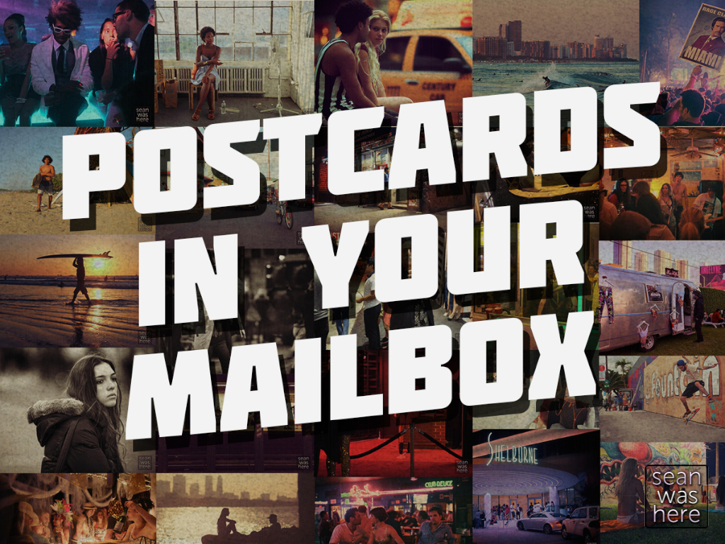 Postcards in your mailbox's video poster