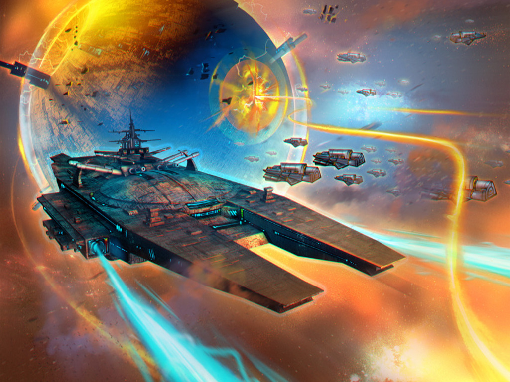 Star Realms Deckbuilding Game's video poster